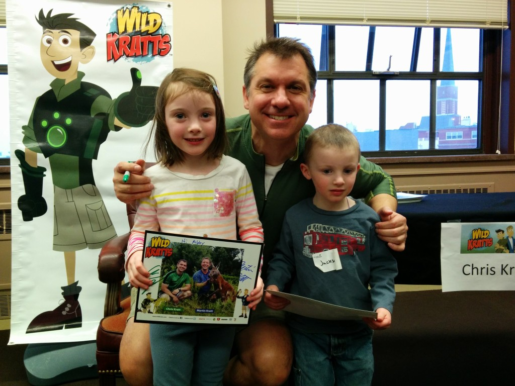 Moores meet Wild Kratts